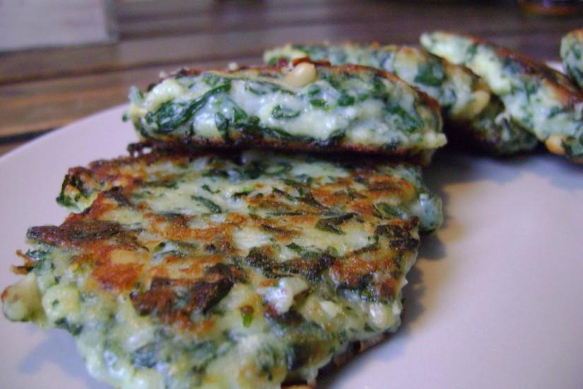 Ricotta spinazie koekjes