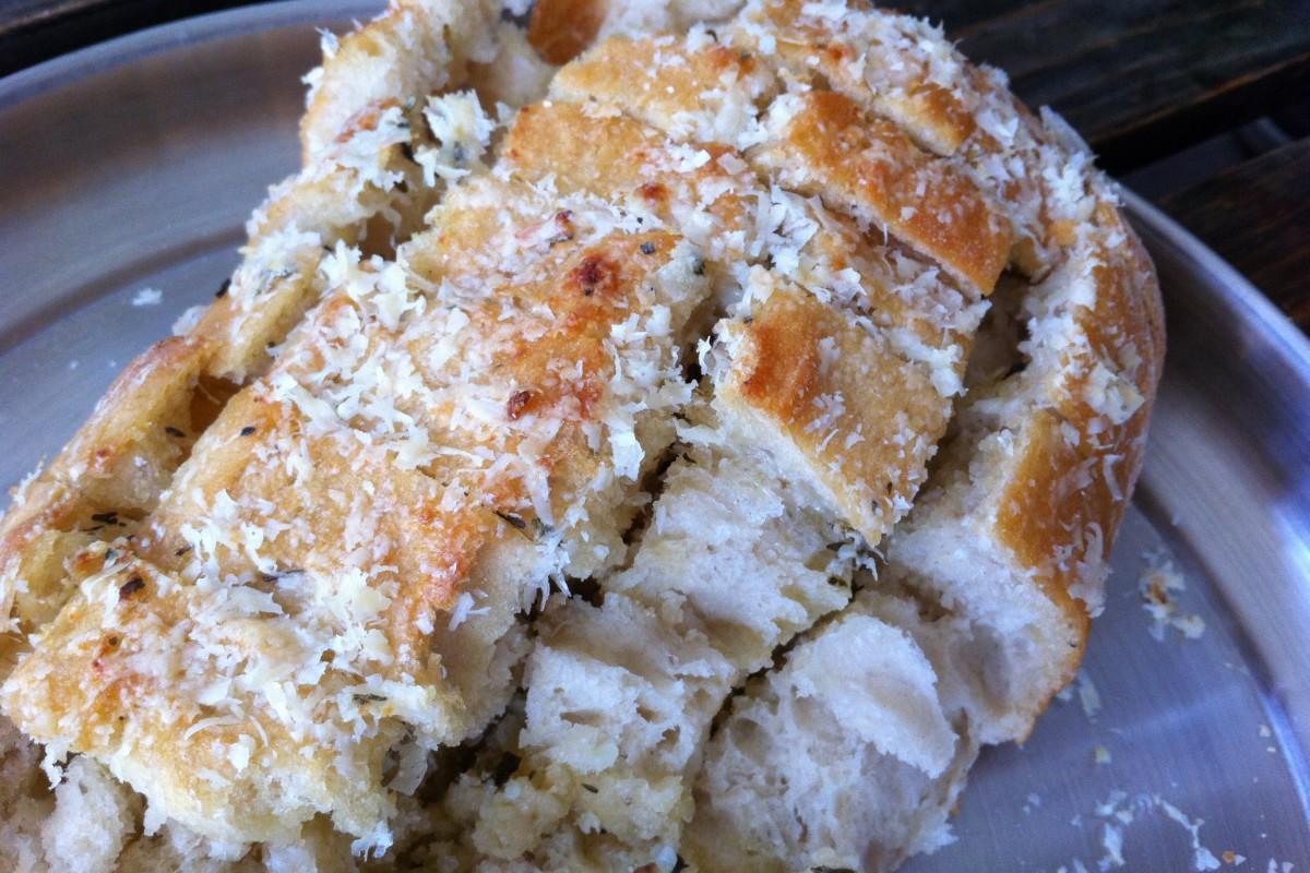 Knoflook plukbrood