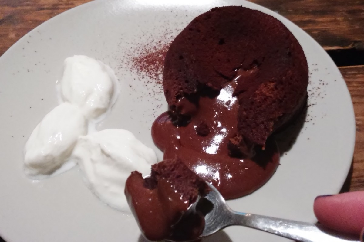 Chocolade fondant cake
